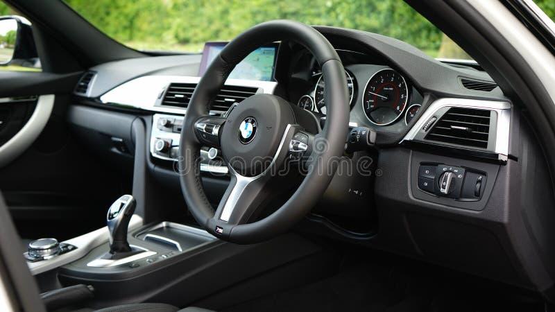 BMW内部 图库摄影