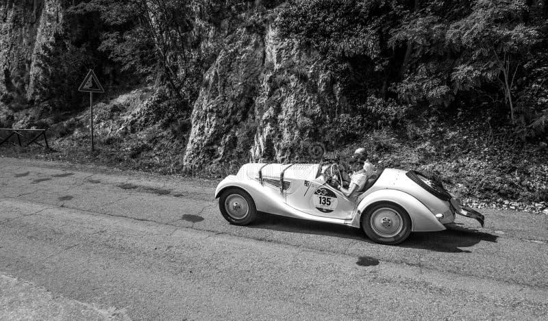 BMW 328 1939 arkivbild