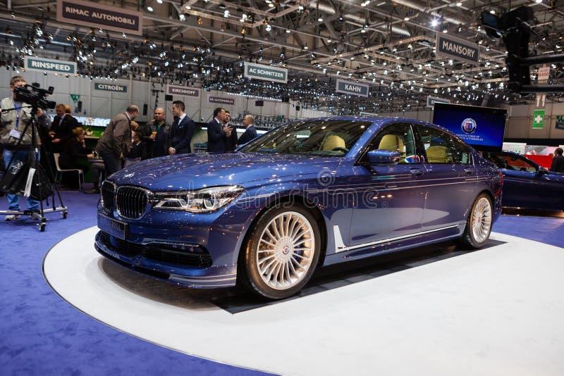 BMW Alpina B7 BI-turbo imagen de archivo libre de regalías