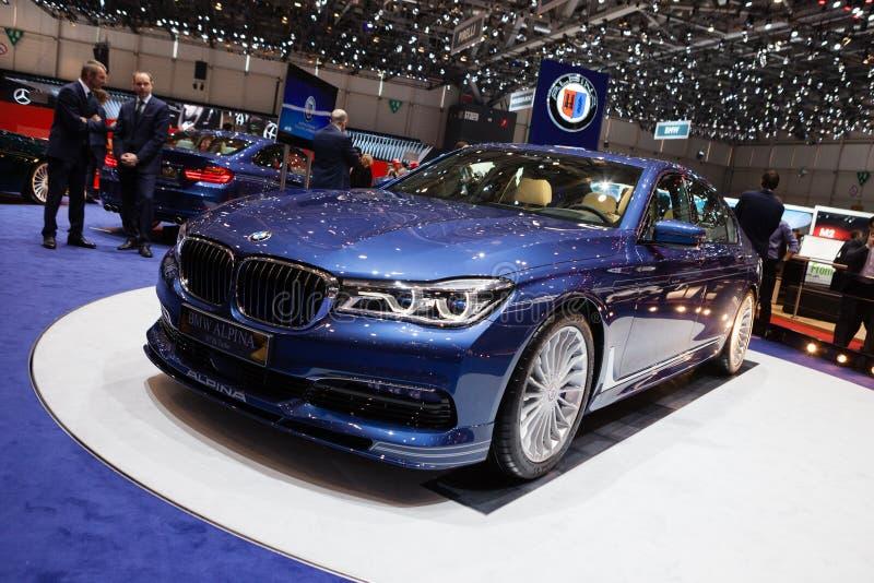 BMW Alpina B7 BI-turbo imágenes de archivo libres de regalías