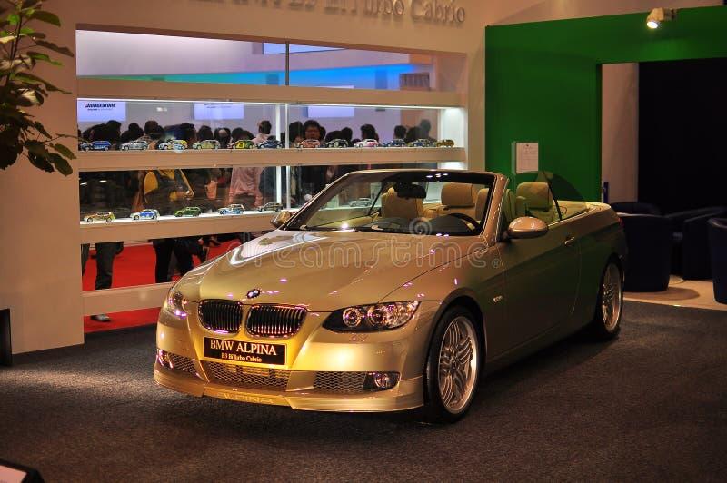 BMW Alpina B3 BiTurbo Cabrio royalty free stock photos