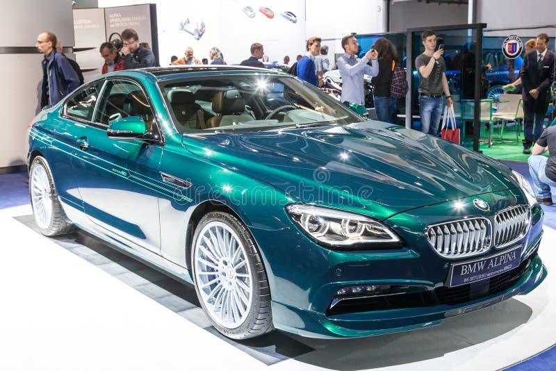 BMW Alpina bij IAA 2015 royalty-vrije stock foto's