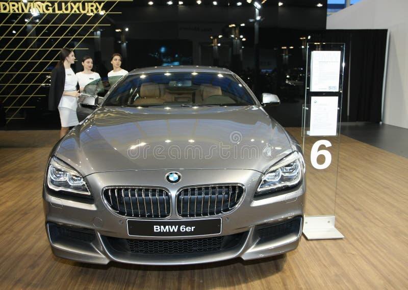 BMW au Car Show de Belgrade photographie stock