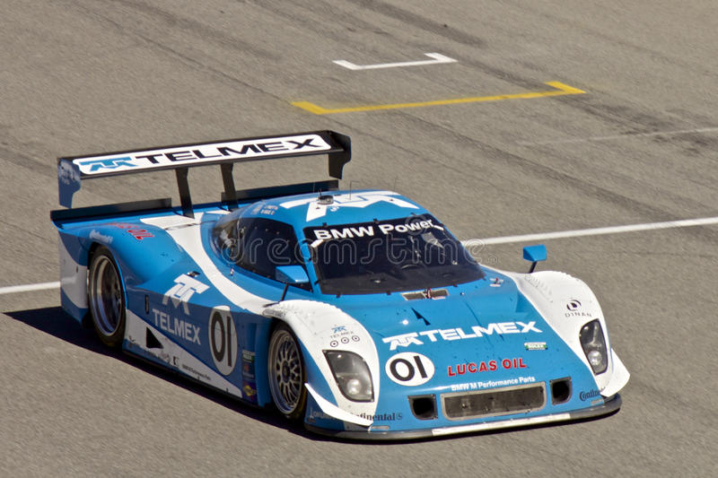 BMW CanAm at Grand AM Rolex Races royalty free stock image