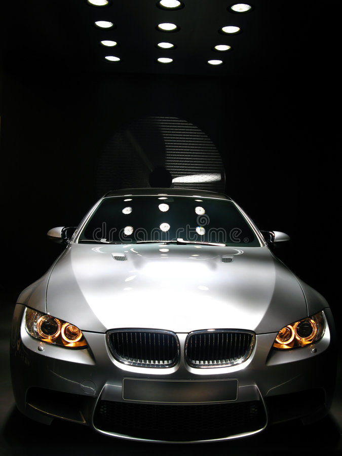 bmw car concept m3 sports στοκ εικόνες
