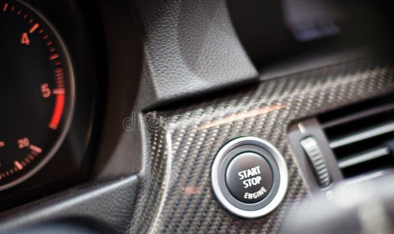 BMW-Cockpit auf 63. IAA stockbild