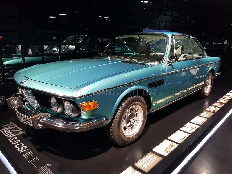 BMW 3.0 CSi stock image