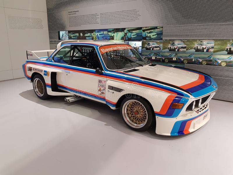 BMW 3 0 CSL imagen de archivo libre de regalías