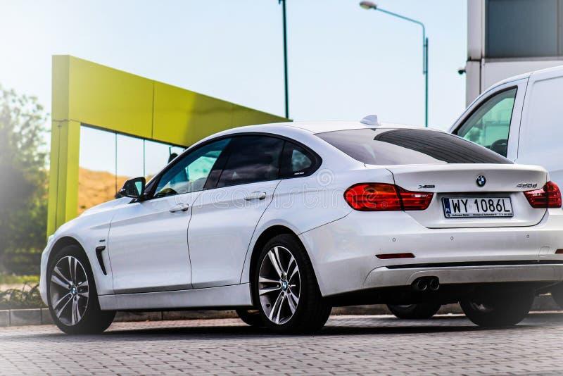 BMW 440d fotografia stock libera da diritti