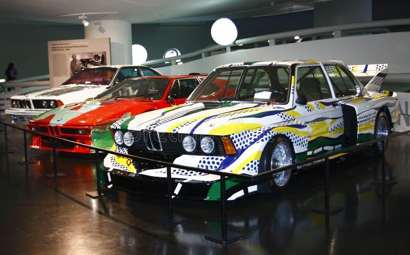 BMW d'artistes photographie stock libre de droits