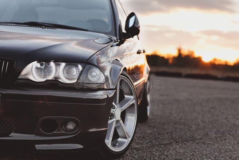 BMW de voiture photographie stock