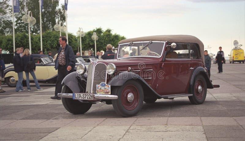BMW Dixi老朋友汽车敞篷车正面图 免版税图库摄影