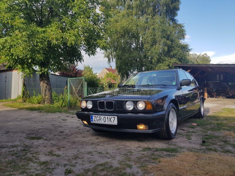 BMW E34 images libres de droits