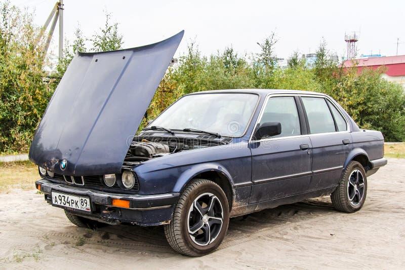 BMW E30 324d royalty-vrije stock foto