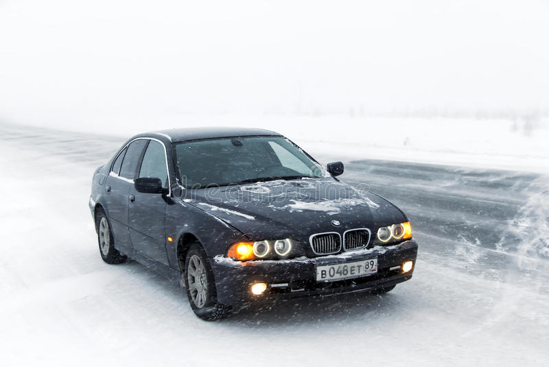 BMW E39 520i foto de archivo libre de regalías