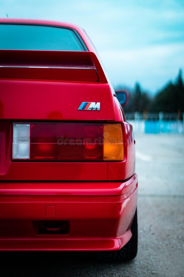 BMW E30 M3 zdjęcie stock