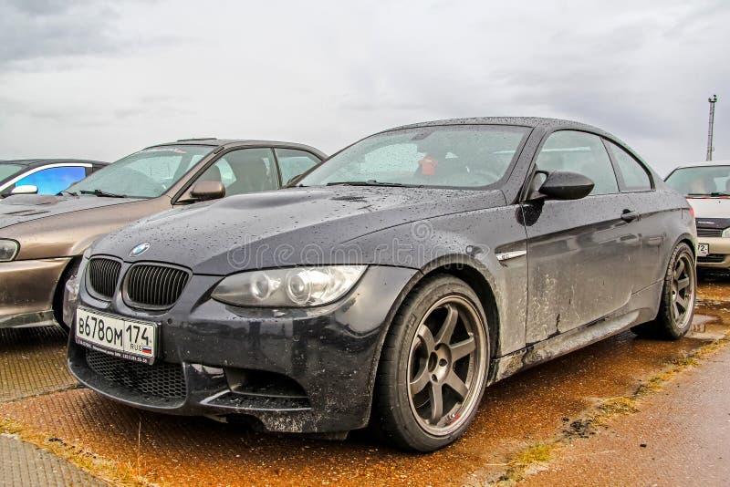 BMW E92 M3 royaltyfri bild