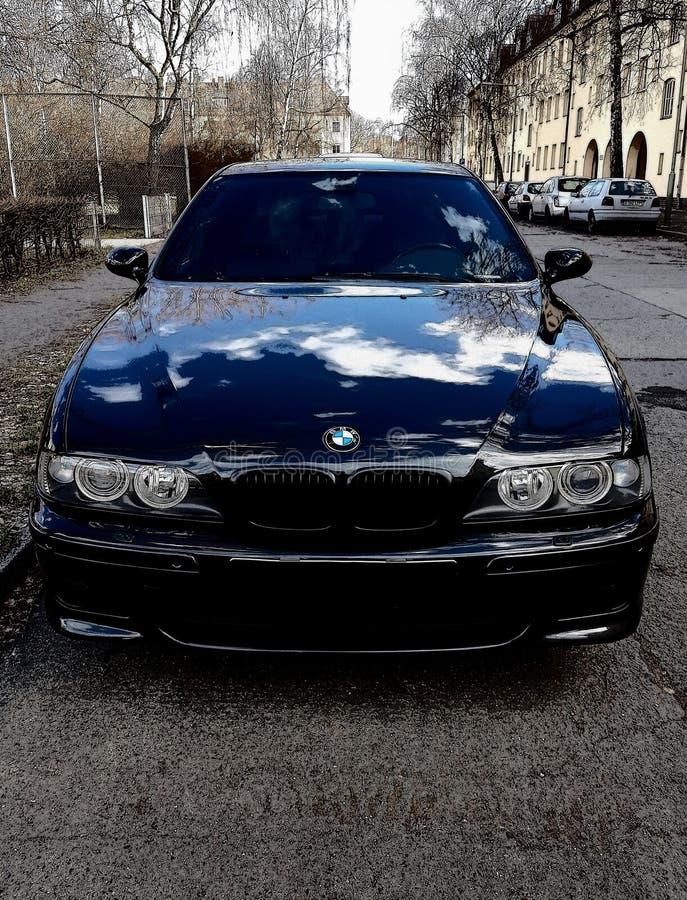 BMW E39 M5 στοκ εικόνα με δικαίωμα ελεύθερης χρήσης