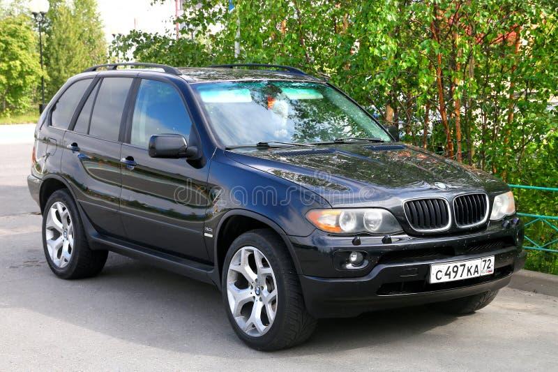 BMW E53 X5 royalty-vrije stock afbeeldingen