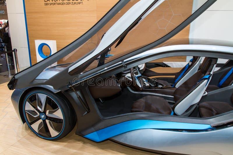BMW elektryczny sportowy samochód obraz royalty free
