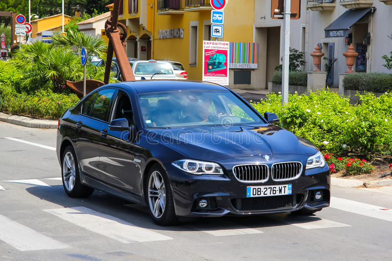 BMW F10 5系列 免版税图库摄影