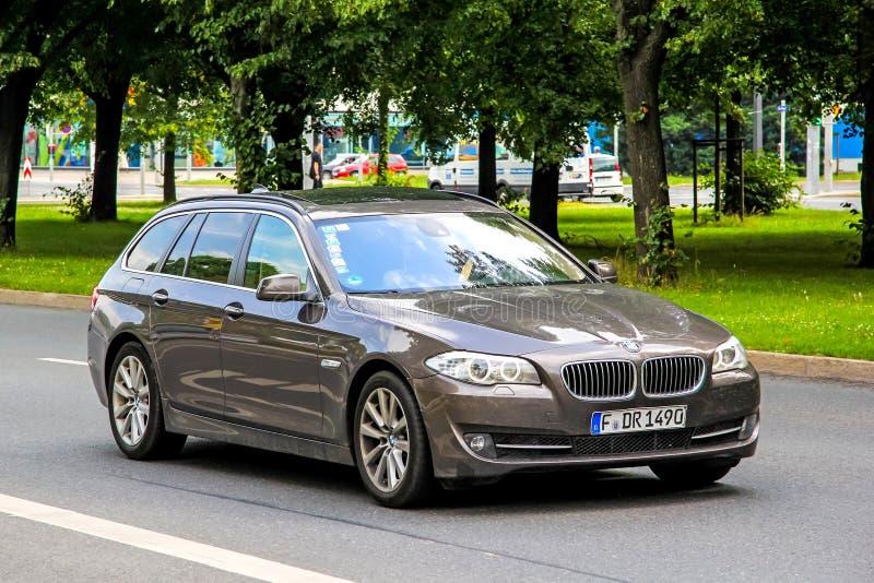 BMW F11 5系列 图库摄影