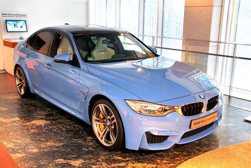 BMW F80 M3 lizenzfreie stockfotos