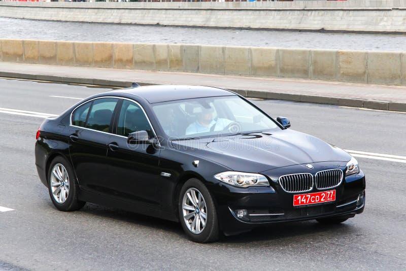 BMW F10 5 séries fotografia de stock royalty free
