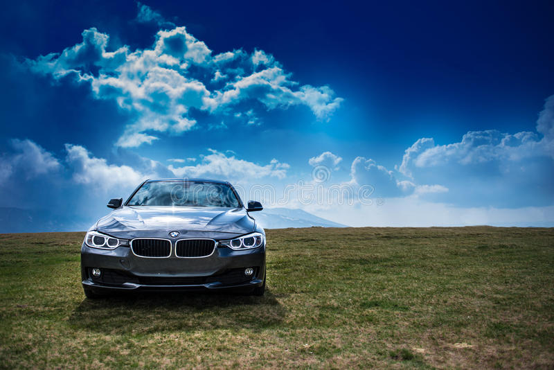 BMW F30 stock image
