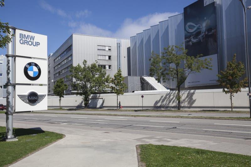BMW-fabriek stock afbeeldingen