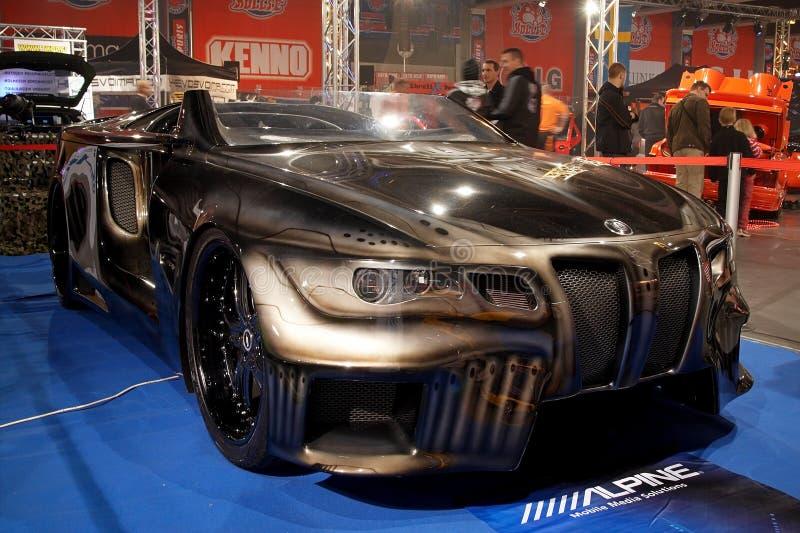 BMW-finsteres Konzept 6 lizenzfreie stockfotos
