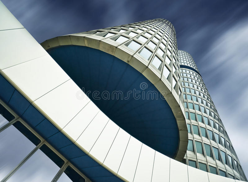 BMW Headquarters stock photography