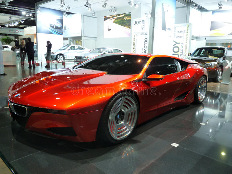 BMW Homage M1 royalty free stock image