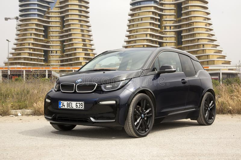BMW i3 fotografia de stock