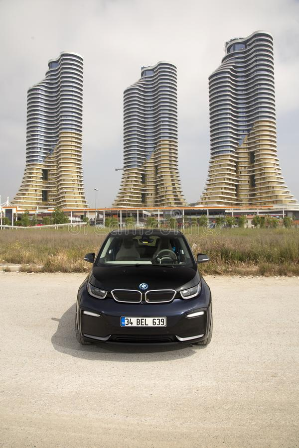 BMW i3 库存照片