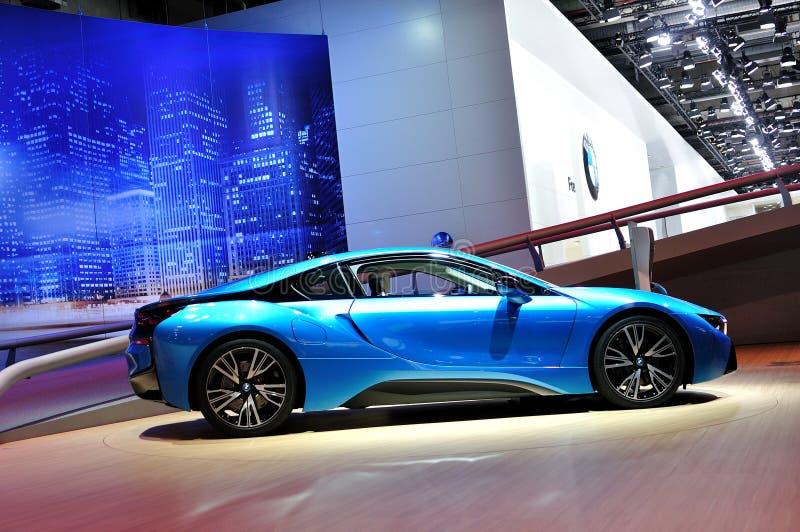 BMW i8. stock afbeelding