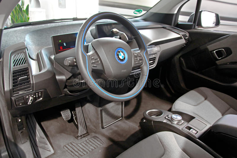 BMW i3 图库摄影