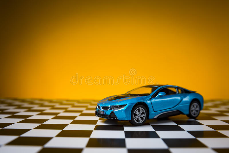 BMW i8 royaltyfria foton