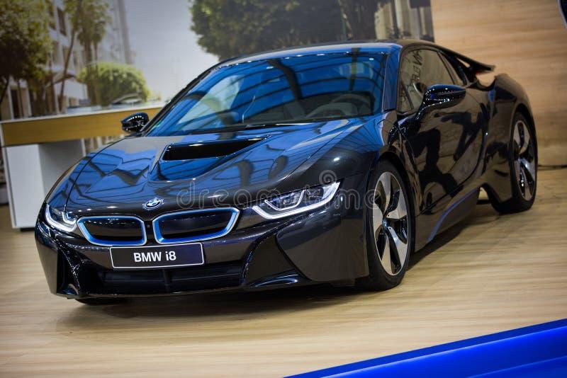 BMW i8 fotografía de archivo libre de regalías