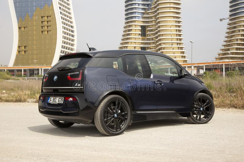BMW i3 royalty free stock photography