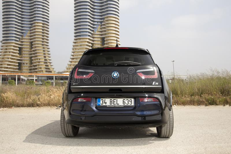 BMW i3 royalty free stock image
