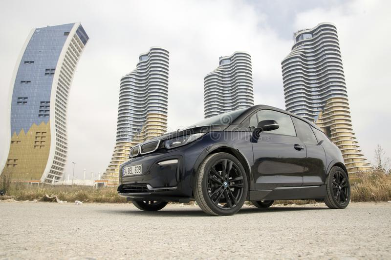 BMW i3 stock image