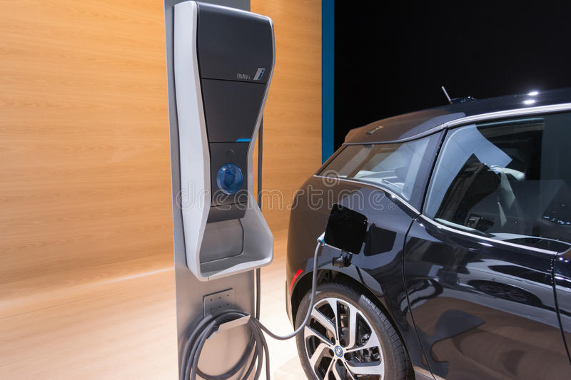Bmw i3 charging station editorial stock photo image for Dream motors los angeles