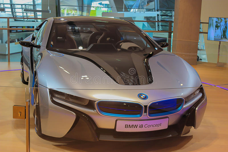 BMW i8 Concept Car royalty free stock photo