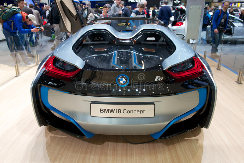 Download BMW i8 concept car editorial photo. Image of muscle, expo - 29703531