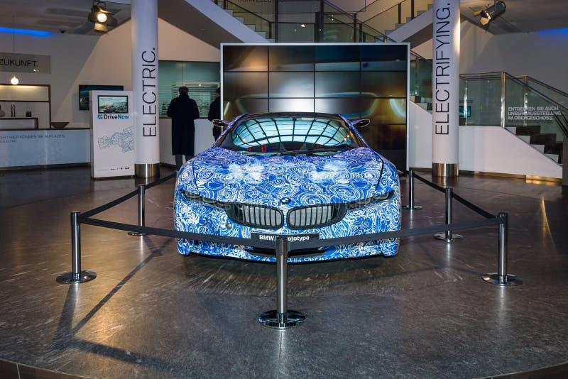 BMW i8 prototyp arkivbilder