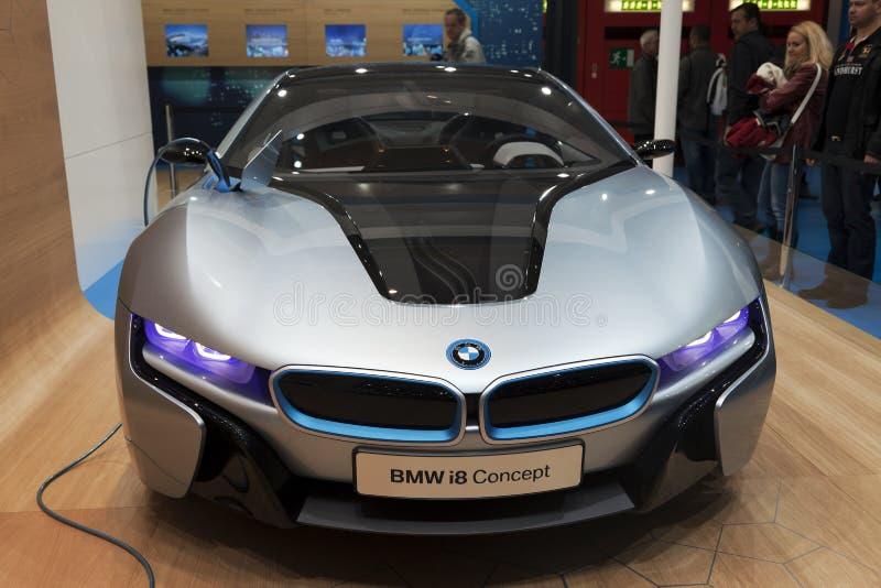 BMW i8 concept car stock image