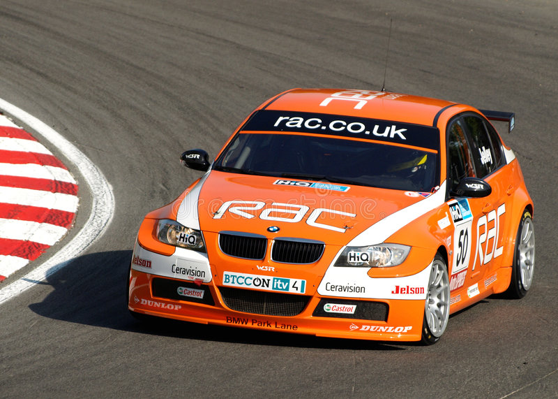 BMW Jelley de l'équipe RAC photos stock
