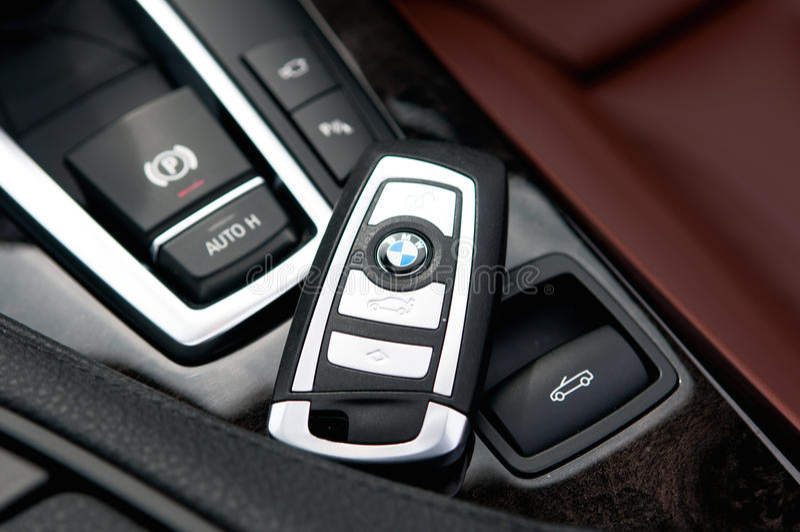 BMW keyless stock photography
