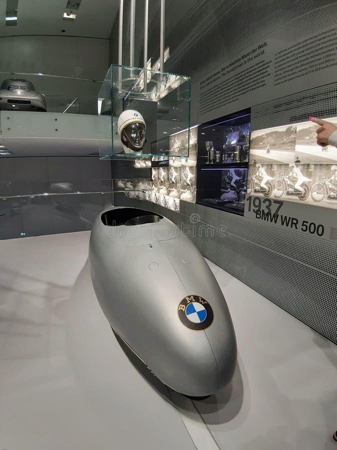 BMW-konceptbil i ammunition, Tyskland arkivfoto